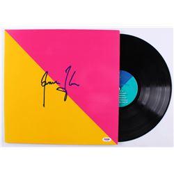 "James Taylor Signed ""Flag"" Vinyl Record Album (PSA COA)"