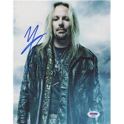 """Vince Neil Signed """"Motley Crue"""" 8x10 Photo (PSA COA)"""