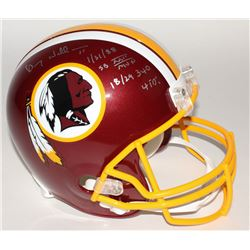 Doug Williams Signed Redskins Full-Size Helmet with (4) Inscriptions (JSA COA)