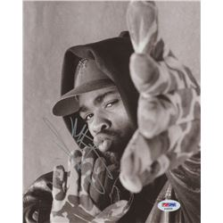 "Method Man Signed ""Wu-Tang Clan"" 8x10 (Beckett COA)"