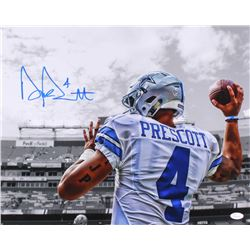 Dak Prescott Signed Cowboys 16x20 Photo (JSA COA)