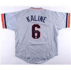 Al Kaline Signed Tigers Jersey (JSA COA)