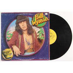 "Bill Wyman Signed ""Monkey Grip"" Vinyl Record Album (JSA ALOA)"