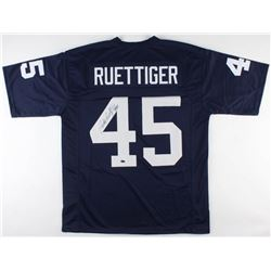 Rudy Ruettiger Signed Notre Dame Fighting Irish Jersey (Schwartz COA)