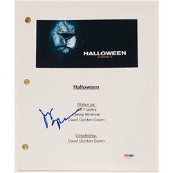"""Judy Greer Signed """"Halloween"""" Full Movie Script (PSA COA)"""