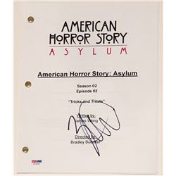 "Zachary Quinto Signed ""American Horror Story"" Full Episode Script (PSA COA)"
