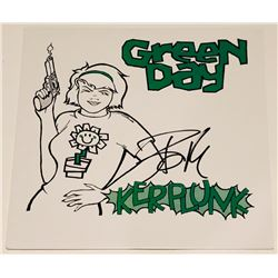 "Billie Joe Armstrong Signed ""Kerplunk"" Vinyl Record Album Cover (PSA COA)"