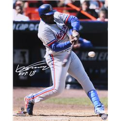 "Vladimir Guerrero Signed Expos 16x20 Photo Inscribed ""HOF 18"" (JSA COA)"