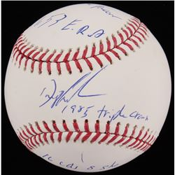 "Dwight ""Doc"" Gooden Signed OML Baseball with (5) Inscriptions (JSA COA)"