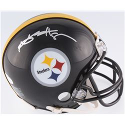 Antonio Brown Signed Steelers Mini Helmet (JSA COA)