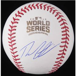 Theo Epstein Signed Official 2016 World Series Baseball (Schwartz COA)