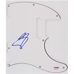 A.J. McLean Signed Electric Guitar Pickguard (PSA Hologram)