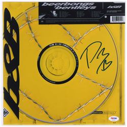 "Post Malone Signed ""Beerbongs  Bentleys"" 12x12 Photo (PSA COA)"
