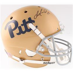 Dan Marino Signed Pittsburgh Panthers Full-Size Throwback Helmet (Beckett COA)