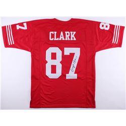 Dwight Clark Signed 49ers Jersey (JSA Hologram)