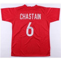 Brandi Chastain Signed Team USA Jersey (JSA Hologram)