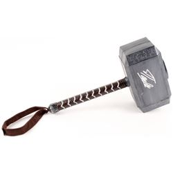 Stan Lee Signed Thor Hammer Movie Prop Replica (Radtke COA)