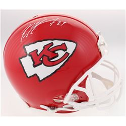 Kareem Hunt Signed Chiefs Full-Size Authentic On-Field Helmet (JSA COA)