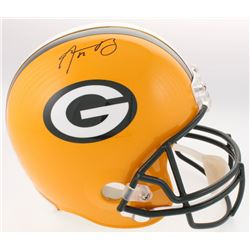 Aaron Rodgers Signed Packers Full-Size Helmet (Radtke COA  Fanatics Hologram)