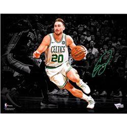Gordon Hayward Signed Celtics 11x14 Photo (Fanatics Hologram)