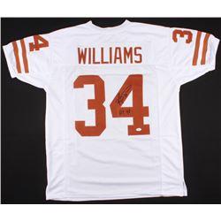 "Ricky Williams Signed Texas Longhorns Jersey Inscribed ""HT 98"" (JSA COA)"