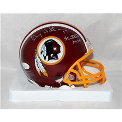 "Doug Williams Signed Redskins Mini Helmet Inscribed ""SB XXII MVP"" (JSA COA)"