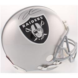 Derek Carr Signed Raiders Full-Size Authentic On-Field Helmet (Beckett COA)