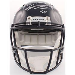 Will Fuller Signed Texans Full-Size Speed Helmet (JSA COA)