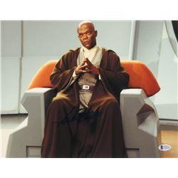 "Samuel L. Jackson Signed ""Star Wars"" 11x14 Photo (Beckett COA)"
