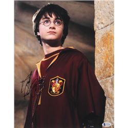 "Daniel Radcliffe Signed ""Harry Potter"" 11x14 Photo (Beckett COA)"