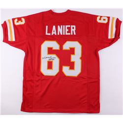 "Willie Lanier Signed Chiefs Jersey Inscribed ""HOF 1986"" (JSA COA)"