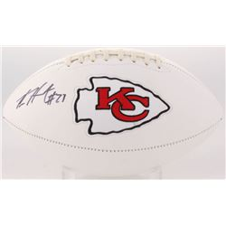 Kareem Hunt Signed Kansas City Chiefs Logo Football (JSA COA)