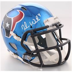 Deshaun Watson Signed Texans Chrome Speed Mini-Helmet (JSA COA)