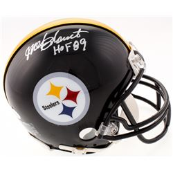 "Mel Blount Signed Steelers Mini Helmet Inscribed ""HOF 89"" (JSA COA)"