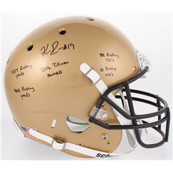 Keenan Reynolds Signed Navy Midshipmen Full-Size Helmet with Multiple Inscriptions (JSA COA)
