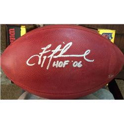 "Troy Aikman Signed LE ""The Duke"" Official NFL Game Ball Inscribed ""HOF 06"" (Steiner COA)"