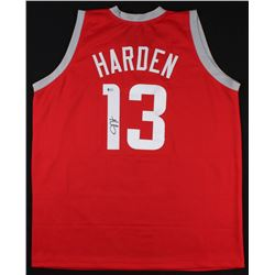 James Harden Signed Houston Rockets Jersey (Beckett COA)