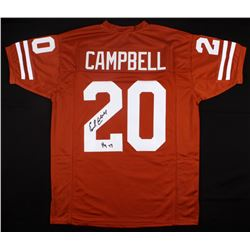 "Earl Campbell Signed Texas Longhorns Jersey Inscribed ""HT 77"" (JSA COA)"