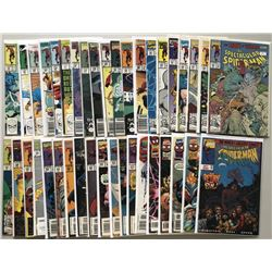 Lot of (39) 1989-1997 Marvel Spectacular Spider-Man 1st Series Comic Books