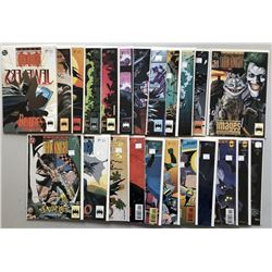 Lot of (42) 1992-1996 DC Batman Legends of the Dark Knight Comic Books
