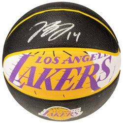 Brandon Ingram Signed Lakers Logo Basketball (Fanatics Hologram)