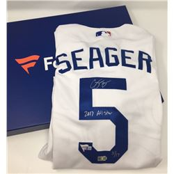 """Corey Seager Signed Dodgers Limited Edition 2017 All-Star Game Authentic Majestic Jersey Inscribed """""""