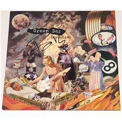 "Billie Joe Armstrong Signed ""Insomniac"" Vinyl Record Album Cover (PSA COA)"