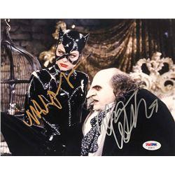 """Michelle Pfeiffer  Danny DeVito Signed """"Batman Returns"""" 8x10 Photo (PSA LOA)"""