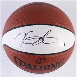 Kevin Durant Signed Golden State Warriors Logo Basketball (Panini COA)