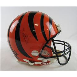 Cris Collinsworth Signed Bengals Full-Size Authentic On-Field Helmet (JSA Hologram)