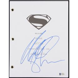 "Michael Shannon Signed ""Man of Steel"" Movie Script (Beckett COA)"