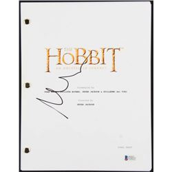 "Martin Freeman Signed ""The Hobbit: An Unexpected Journey"" Movie Script (Beckett COA)"