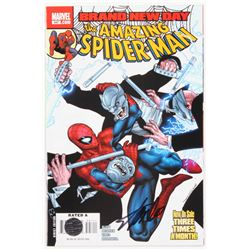 """Stan Lee Signed 2008 """"The Amazing Spider-Man"""" Issue #547 Direct Edition Marvel Comic Book (Lee COA)"""