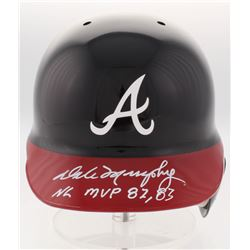 "Dale Murphy Signed Atlanta Braves Full-Size Batting Helmet Inscribed ""NL MVP 82, 83"" (Radtke COA)"